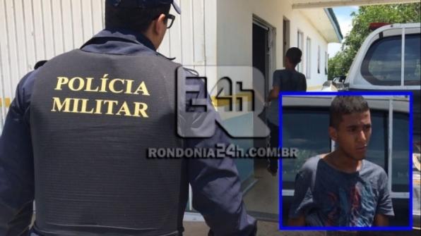 Ladrão durante roubo é baleado por policial militar dentro de residencia em Monte Negro