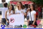 População realiza manifestação contra a violência em Monte Negro