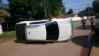 Após colisão FIAT TORO capota em Ariquemes