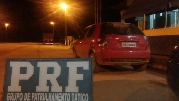 PRF recupera automóvel na BR 421, em Monte Negro - Rondonia24h