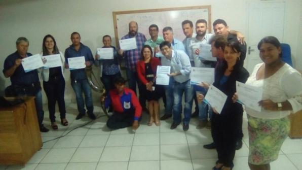 Vereadores participam de capacitação profissional para legislar na Câmara Municipal de Monte Negro –