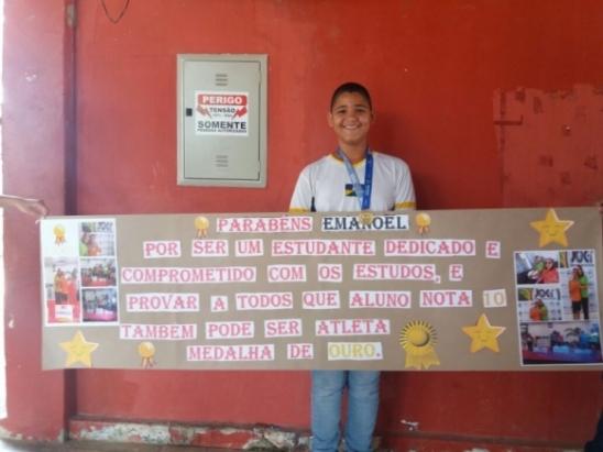 Estudante da Escola Mato Grosso é medalhista de ouro no JOER 2017, em Ji-Paraná
