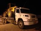 PM recupera caminhão durante fiscalização ambiental na região do Vale do Jamari