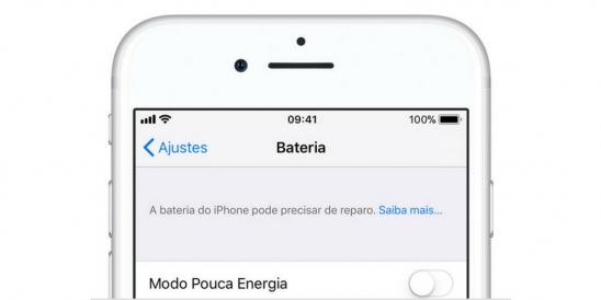 Como saber se a bateria do iPhone precisa ser trocada?
