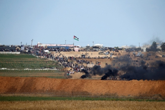 Fronteira entre Gaza e Israel tem confronto horas antes da inauguração da embaixada dos EUA