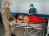 Corpo de Bombeiros socorre homem que foi agredido em briga após bebedeira no Marechal Rondon