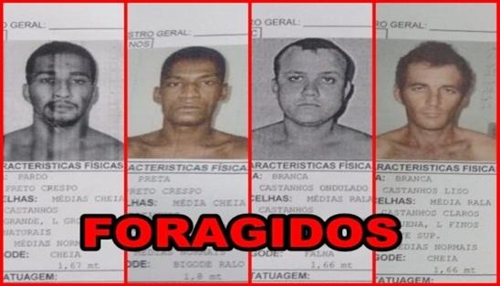 PRESIDIÁRIOS SERRAM CELAS E FOGEM DO PRESÍDIO DE ARIQUEMES