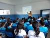 Psicóloga conscientiza alunos com palestras;