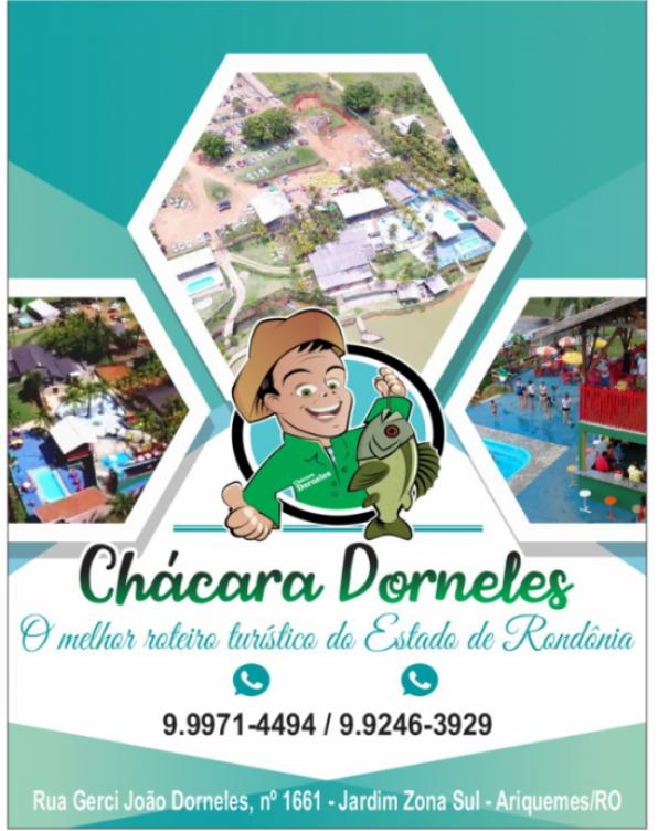 Chácara Dorneles: Inauguração do Salão de Dança e animação de FRANCIS & BRENO E BANDA, dia 20/04