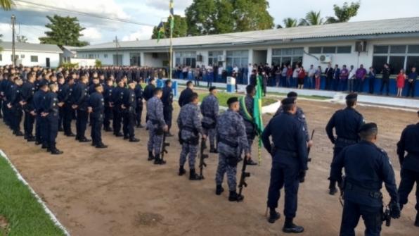 7º Batalhão da Polícia Militar realiza formatura alusiva ao Dia do Tiradentes