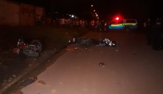 MÃE E FILHA MORREM EM GRAVE ACIDENTE ENTRE MOTOCICLETAS EM ARIQUEMES