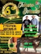 2º Festival de Interpretação da Música Sertaneja da Chácara Dorneles inicio 06 de junho em Ariquemes