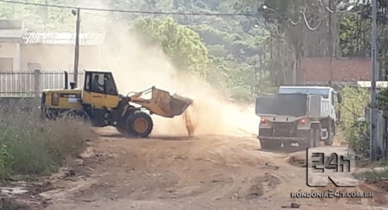 Limpa Monte Negro nos setor 4 e Morar Melhor, em RO