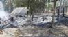 Depósito de ração é consumido pelo fogo na zona rural no Vale do Anari, RO
