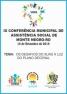 Convite para IX Conferência Municipal de Assistência Social de Monte Negro, RO