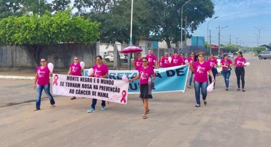 Caminhada abre a campanha