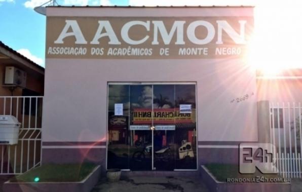 Abertas as matriculas da Associação dos Acadêmicos de Monte Negro (AACMON) para 2020, em RO