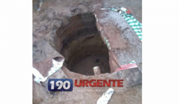 DISTRITO BOM FUTURO – Menino de 3 anos cai em fossa e morre afogado