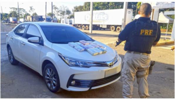 Tráfico de drogas: em Ji-Paraná, ação conjunta entre PRF e PC/RO apreende 15 quilos de cocaína