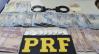 Apressado: PRF prende, por tráfico de cocaína, motorista que avançou sinal vermelho